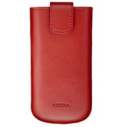 Housse vertical couleur rouge pour Nokia (origine Nokia)