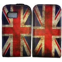 Housse drapeau vintage Union Jack Angleterre pour Samsung Galaxy Y
