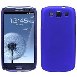 Coque silicone bleu nuit pour Samsung Galaxy S3