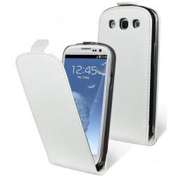 Housse Moxie Blanche pour Samsung Galaxy S3 / étui blanc