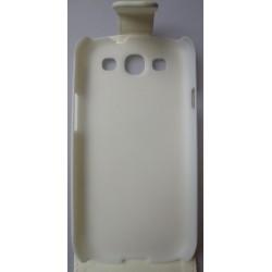 Etui blanc effet carbone Samsung Galaxy S3 / housse blanche