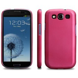 Coque protection Barely There Case Mate Samsung Galaxy S3 Rose