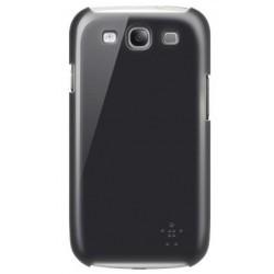 Coque marque Belkin pour Samsung Galaxy S3 - polycarbonate noir