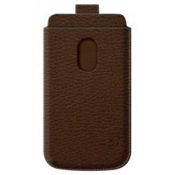 Etui Belkin vertical à languette cuir marron pour Samsung Galaxy S3