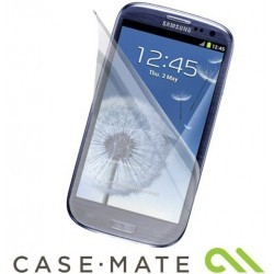 Pack de 2 films Case-Mate protecteur d'écran et vitre Samsung Galaxy S3