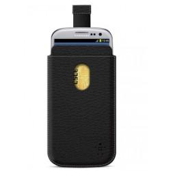 Housse verticale Pocket grainé pour Samsung Galaxy S3 - Belkin