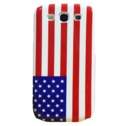 Coque drapeau USA Etats unis d'Amérique pour Samsung Galaxy S3