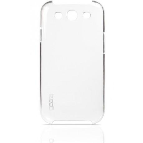 Coque rigide transparente de luxe pour le Samsung Galaxy S3 - Marque Gear4.