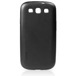 Coque rigide noire de luxe pour le Samsung Galaxy S3 - Marque Gear4