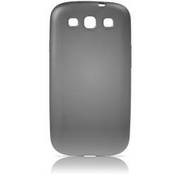 Coque rigide noire fumée de luxe pour le Samsung Galaxy S3 - Marque Gear4