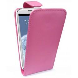 Housse rose Samsung Galaxy S3 - étui à rabat.