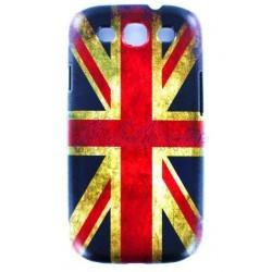 Coque vintage drapeau Angleterre Royaume-Uni pour Samsung Galaxy S3