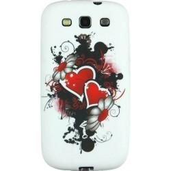 Coque motif coeur love pour le Samsung Galaxy S3