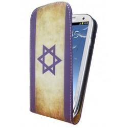 Housse drapeau Israel Vintage pour Samsung Galaxy S3