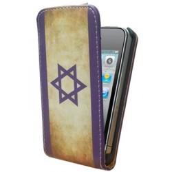 Housse drapeau Israel vintage IPhone 4S ou iPhone 4