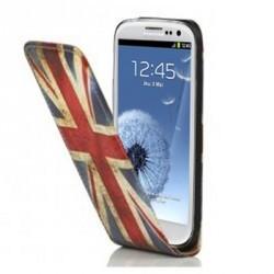Etui vintage drapeau Royaume Uni Angleterre pour Samsung Galaxy S3