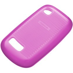Coque rose Nokia Asha 200/201 origine Nokia