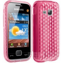 Coque rose protection Samsung Player mini C3310