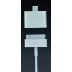 Adaptateur iPhone 5 Lightning pour connecter accessoires