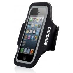 Etui brassard néoprène noir pour iPhone 5