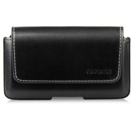 f5e8247c3eb3 Etui clip ceinture cuir pour iPhone 5