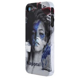Coque Kaporal IPhone 5 Woman Make-Up Paint