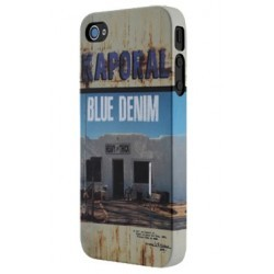"Coque Kaporal iPhone 5 ""Blue Denim"""
