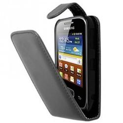 Housse Etui Noir Samsung Galaxy Pocket