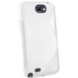 Coque couleur blanche pour Samsung Galaxy Note 2