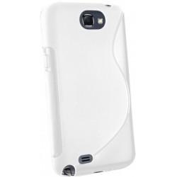Coque couleur blanche pour Samsung Galaxy Note 2