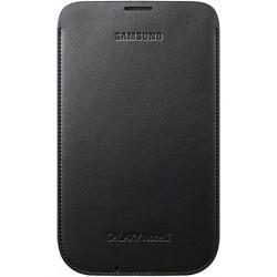 Pochette verticale bleu foncé pour Samsung Galaxy Note 2