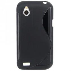 Coque silicone noire HTC Desire X