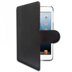 Etui marque iChic Gear pour iPad Mini cuir marron-orange