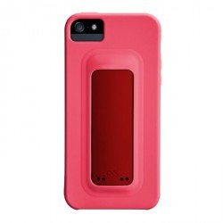 Coque support rose pour iPhone 5 Case Mate