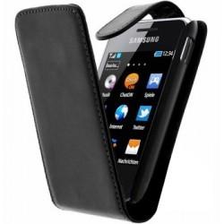 Etui/Housse noir Samsung Star 3 S5220