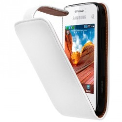 Etui/Housse blanc Samsung Star 3 S5220