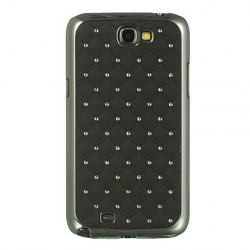 Coque noire strass (diamants) pour Samsung Galaxy Note 2
