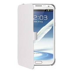 Etui latéral origine blanc Samsung Galaxy Note 2