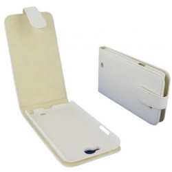 Etui carbone blanc Samsung Galaxy Note 2