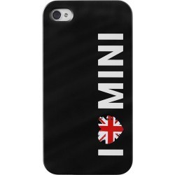 "Coque officielle ""I love Mini"" UK pour iPhone 5"