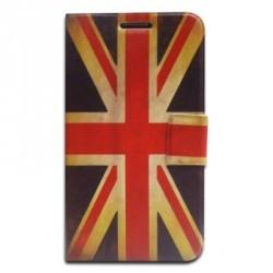 Housse support vintage drapeau Royaume Uni pour Samsung Galaxy Note 2