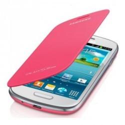 Housse intégrable origine couleur rose pour Samsung Galaxy S3 mini