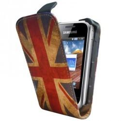 Housse vintage drapeau Angleterre Samsung Player mini 2