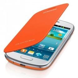 Housse orange officielle intégrable pour le Samsung Galaxy S3 mini