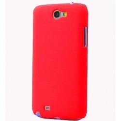 Coque STAX pour Samsung Galaxy Note 2 touché granulé Rose ou rouge