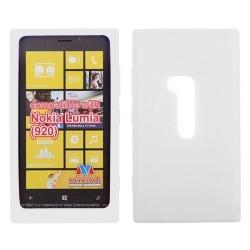 Coque blanche transparente Nokia Lumia 920