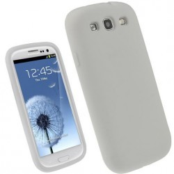 Coque blanche Samsung Galaxy S3 mini - semi-rigide