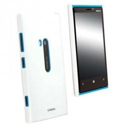 Coque luxe Krusell blanche pour Nokia Lumia 920