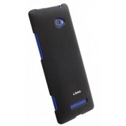 Coque noire de luxe Krusell pour HTC Windows Phone 8X