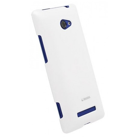 Coque Krusell blanche pour le HTC Windows Phone 8X